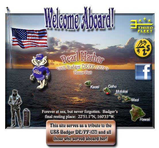 Official Website http://ussbadger-1071.org/